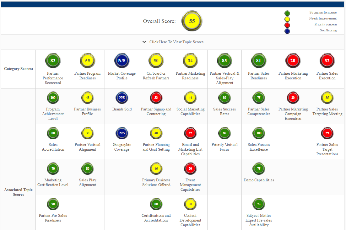 Partner Capability Scorecard