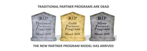 RIP Platinum, Gold, and Silver Partner Programs – the New Model is Here